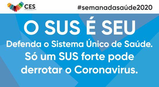 SEMANA DA SAÚDE 2020 - CAPA SITE CES
