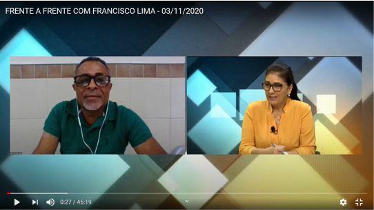 CAPA SITE CES - ENTREVISTA CHICO LIMA PARA TV ASSEMBLEIA